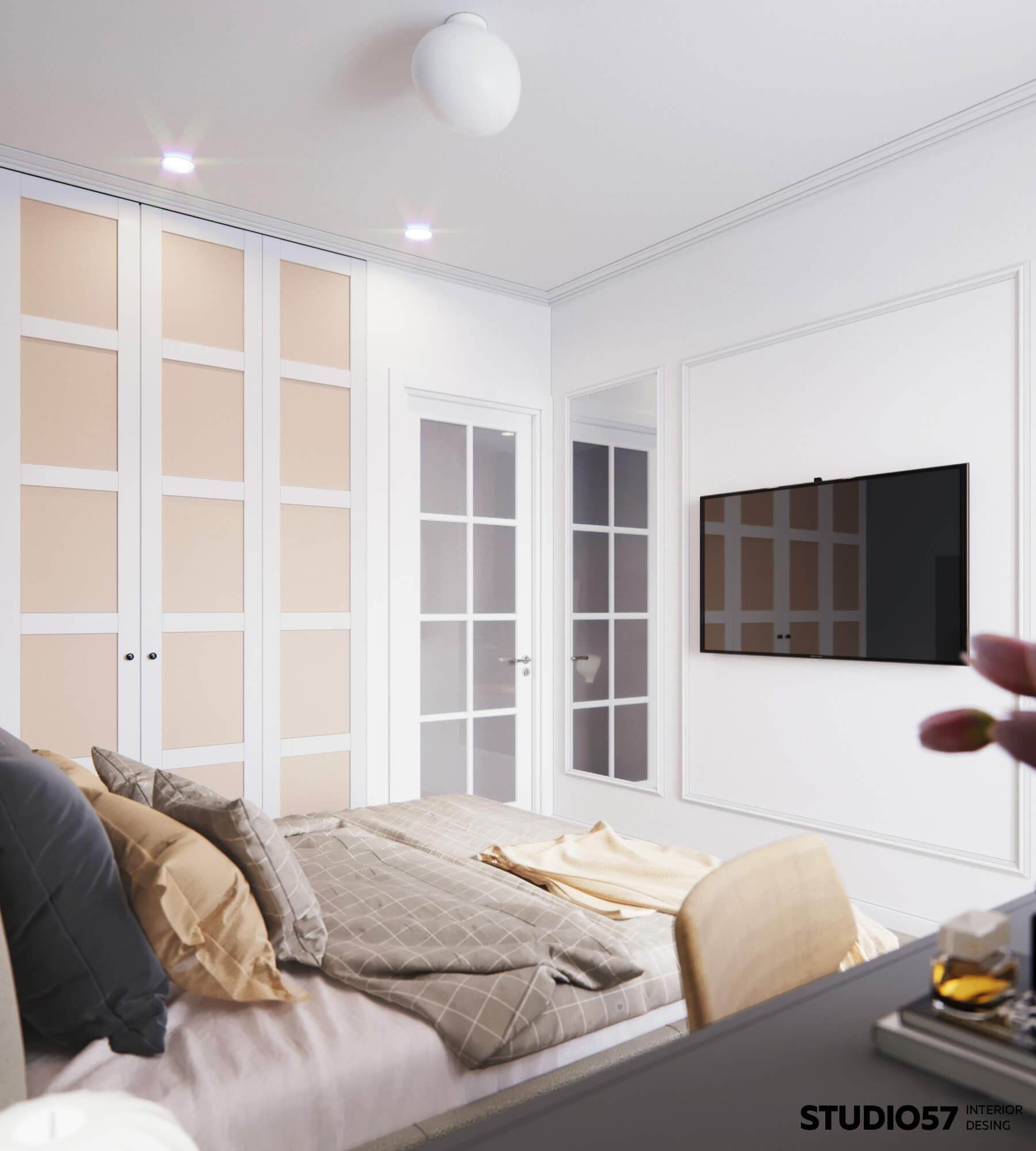 Простое оформление комнаты