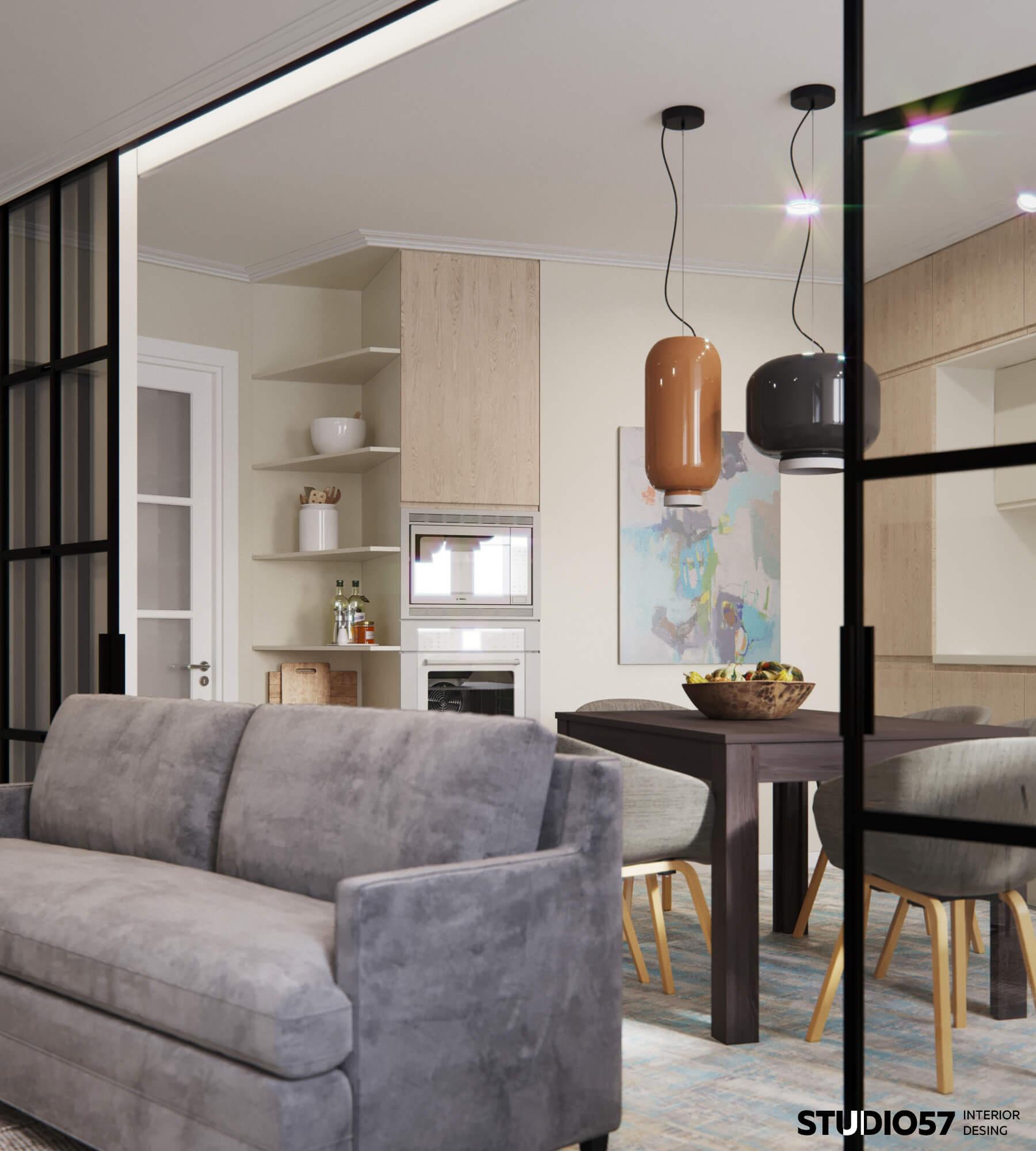 оформление зала в квартире дизайн фото