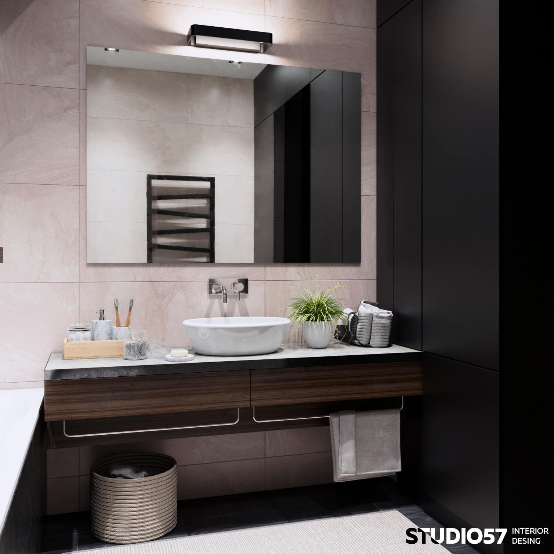 оформление ванной и туалета