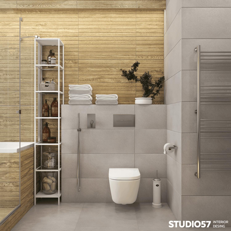 Совмещенная ванна интерьер