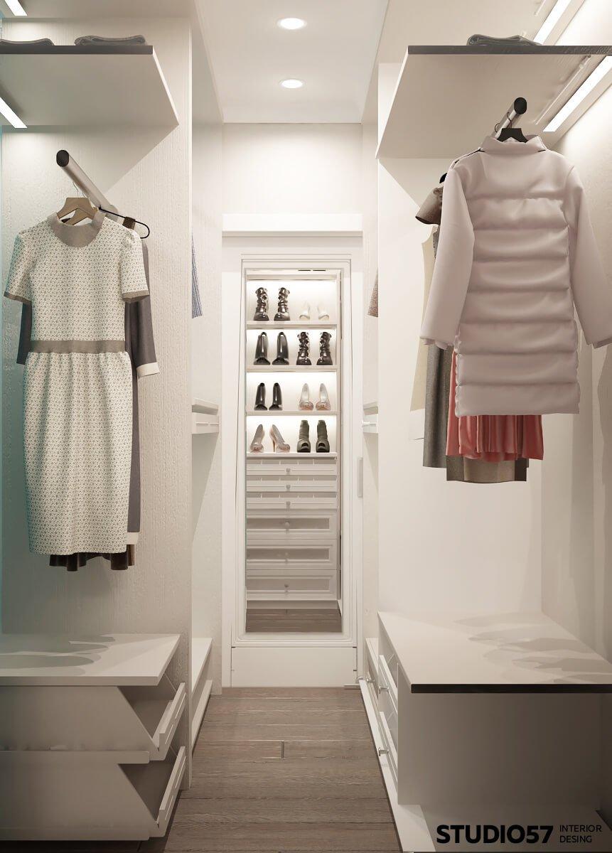 фото интерьер гардероб