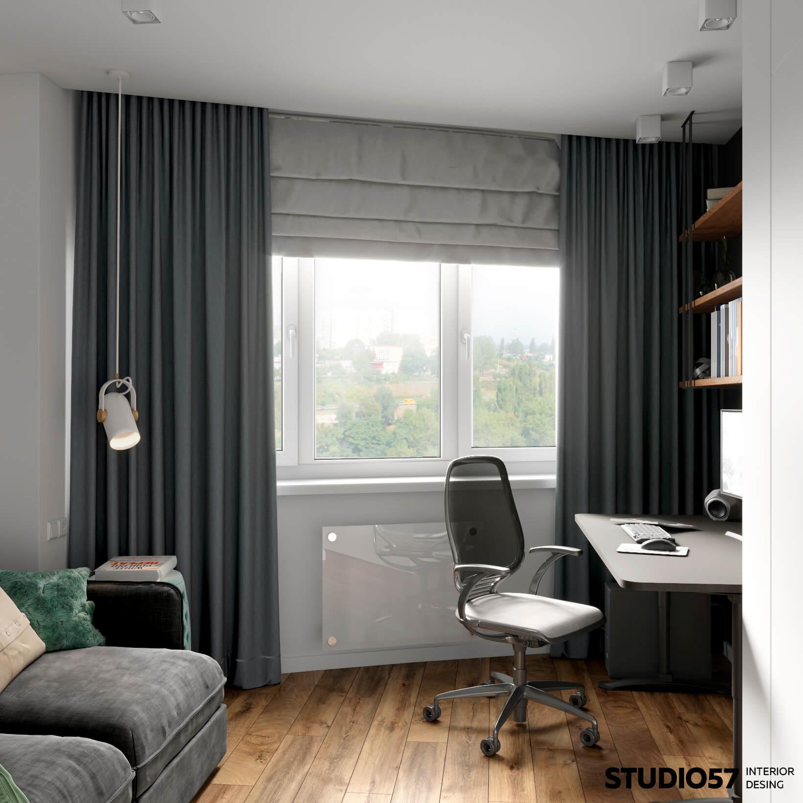 оформление кабинета в квартире