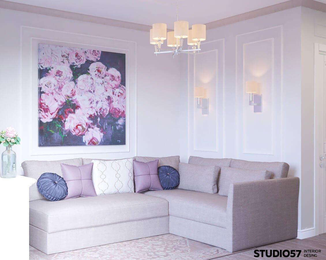 оформлении интерьера комнаты