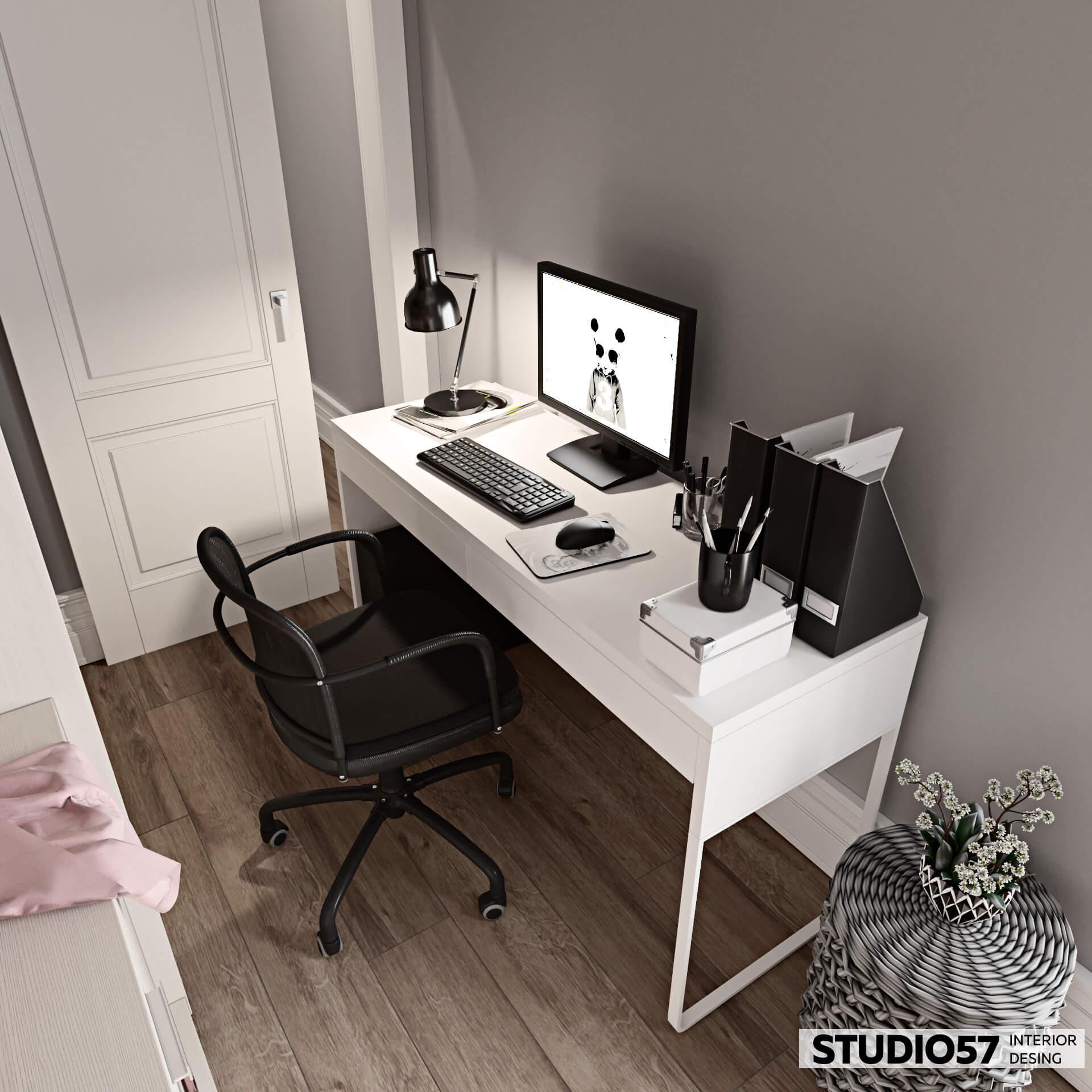 Оформление дизайн кабинета