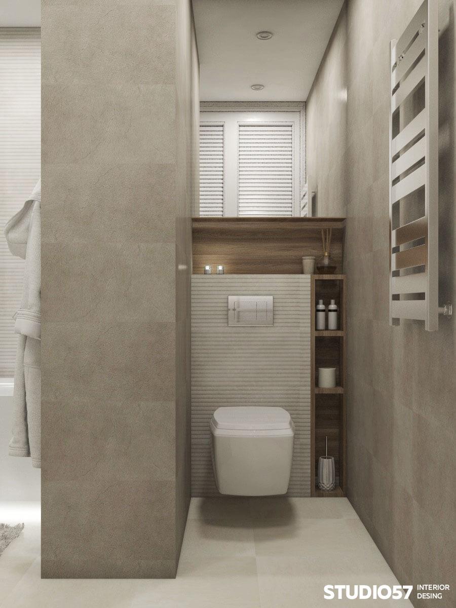 Оформление туалета в квартире
