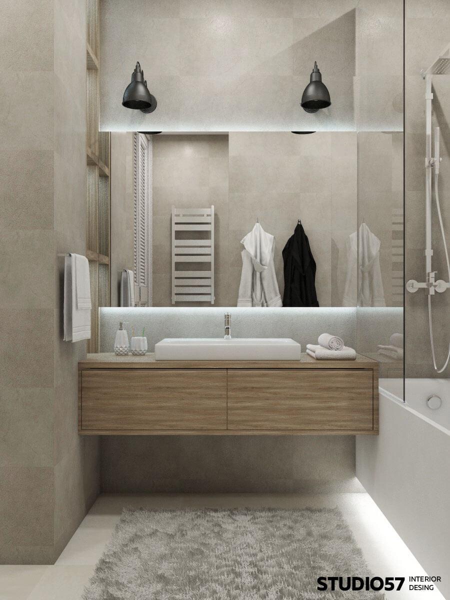 Оформление дизайн ванной