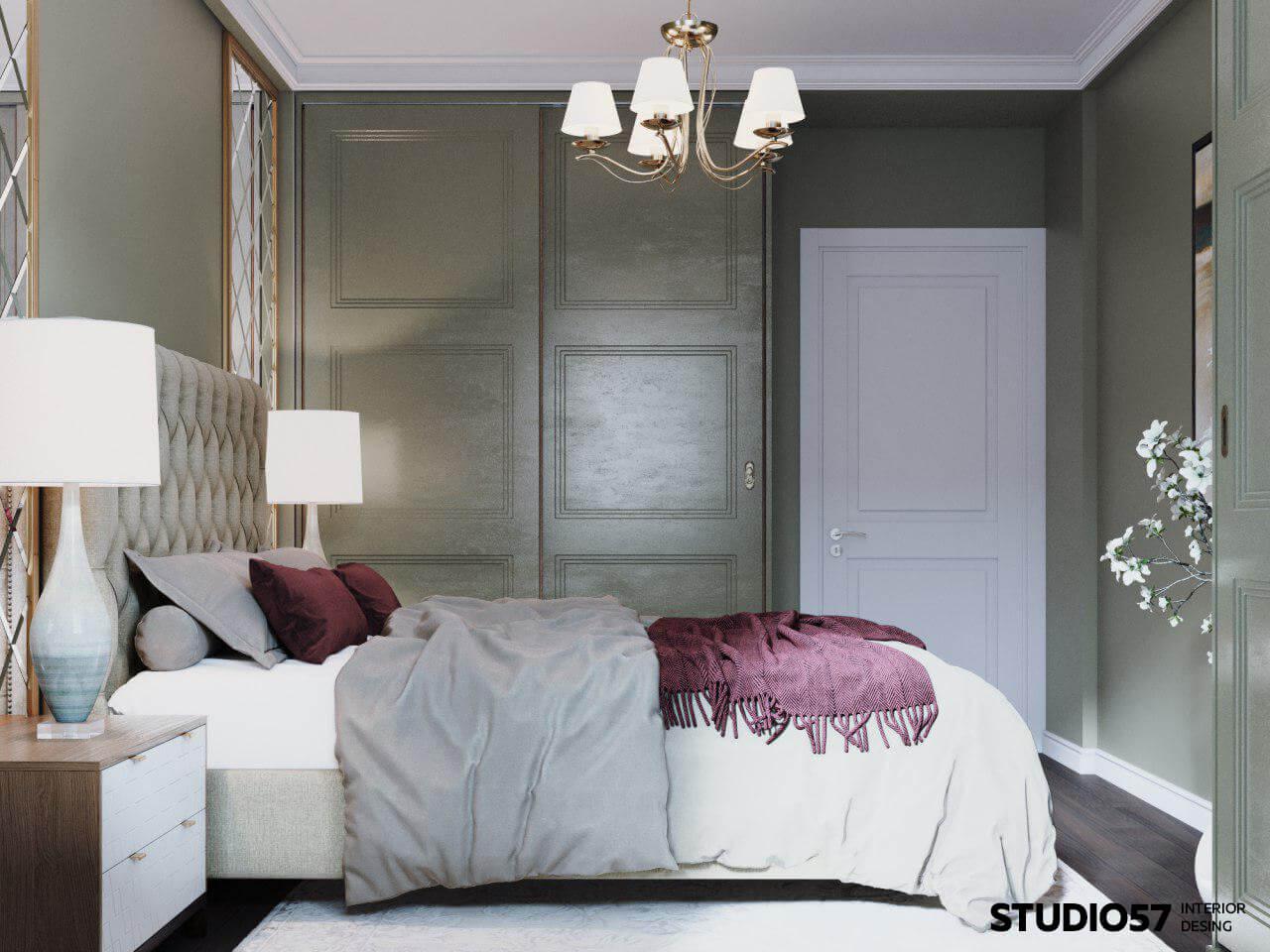 оформление комнаты спальни