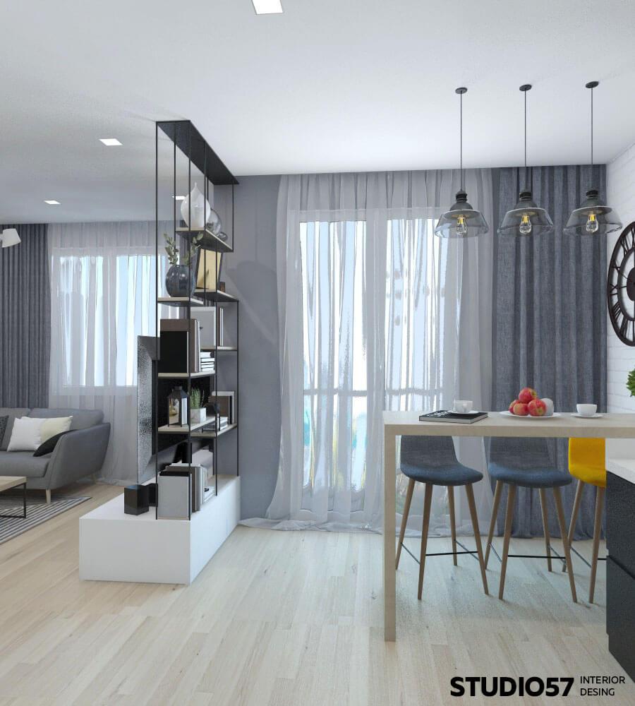 Двухкомнатная квартира интерьер фото