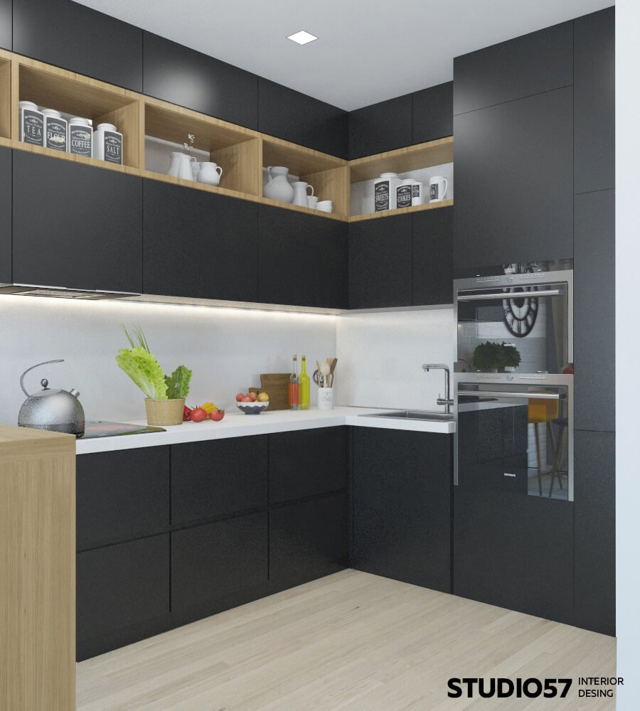 Кухня цвет интерьер фото