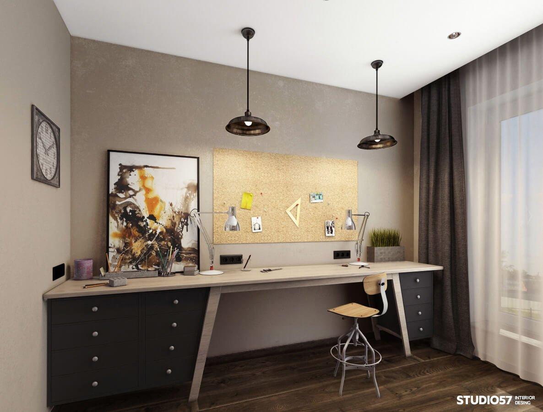 интерьер комнат в частном доме