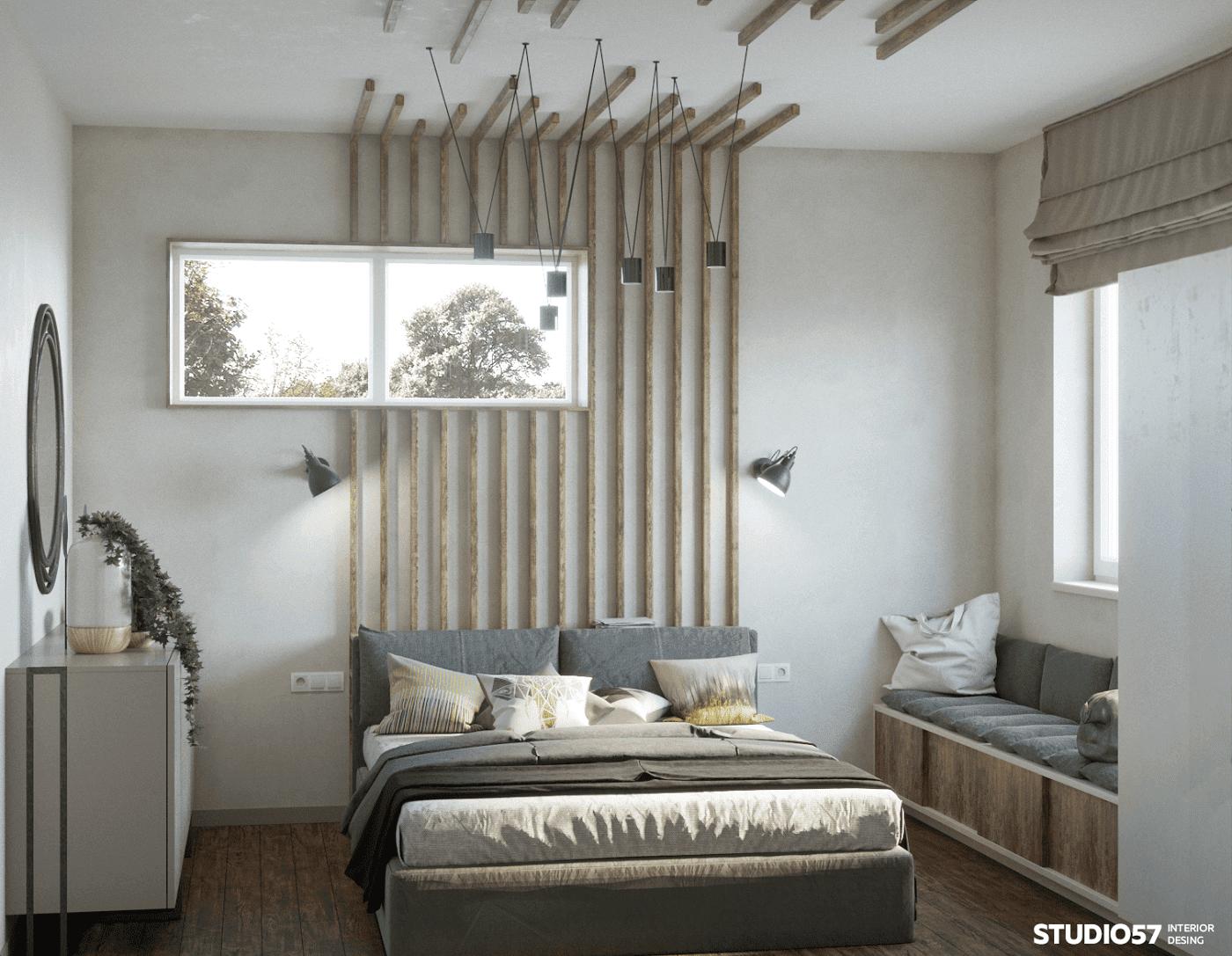 современные спальни дизайн интерьера
