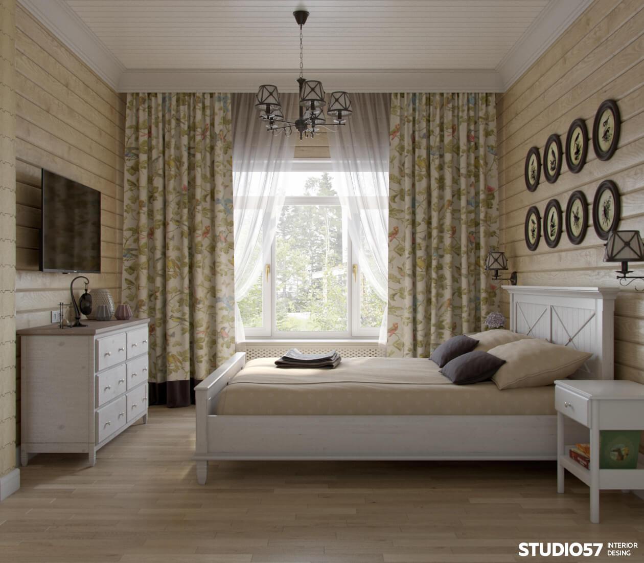 Дизайн комнат в частном
