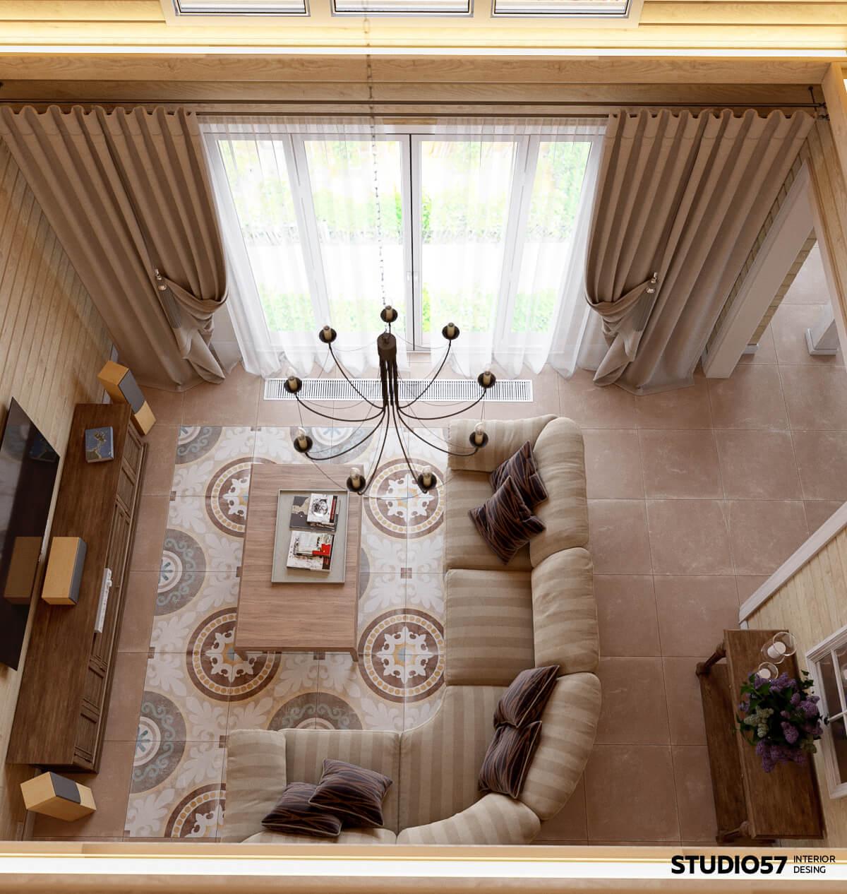 Дизайн оформления гостиной