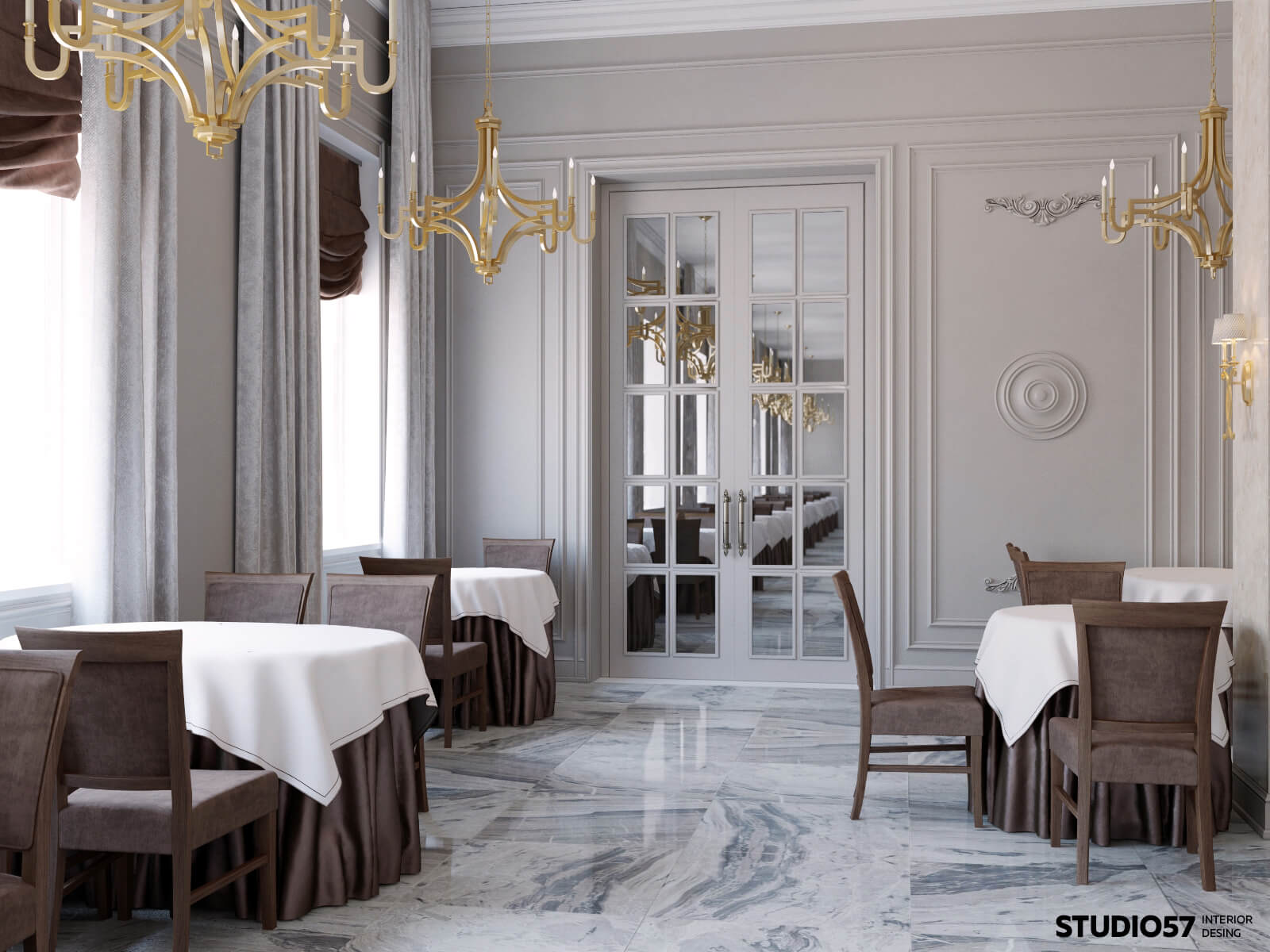 Концепция ресторана в гостинице