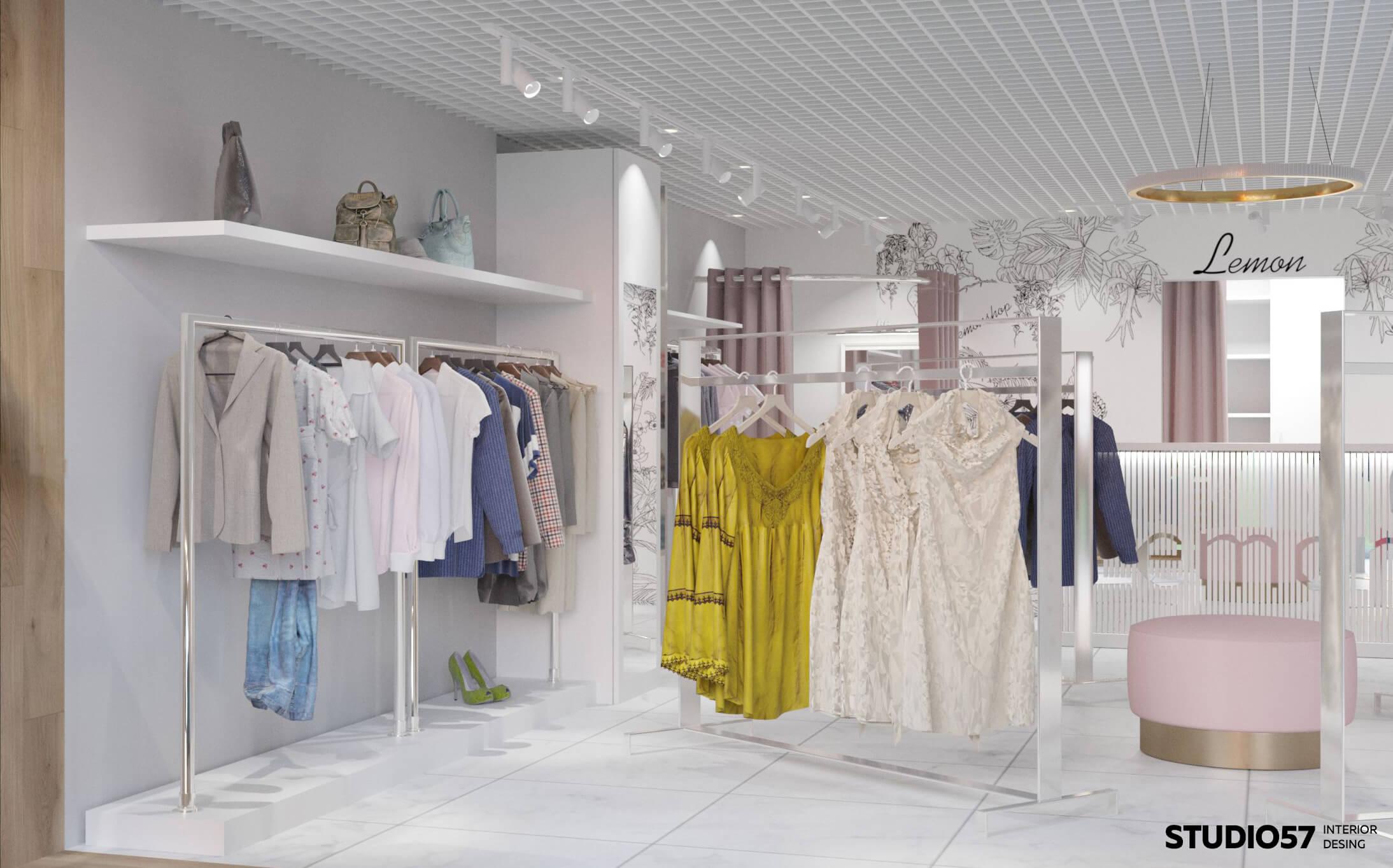 женский магазин дизайн