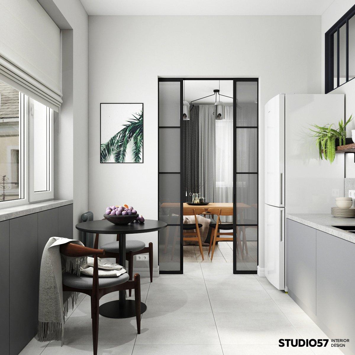 современная квартира дизайн трехкомнатной квартиры