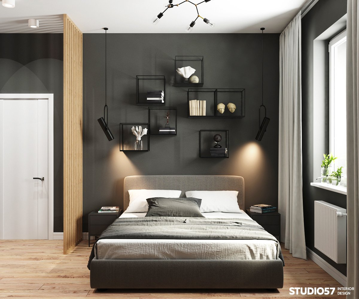 современная трехкомнатная квартира фото