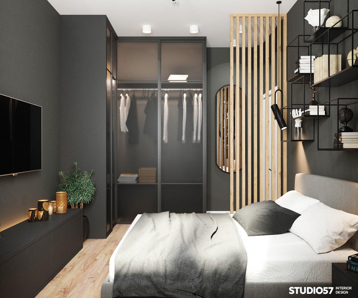 современный дизайн трехкомнатной квартиры фото