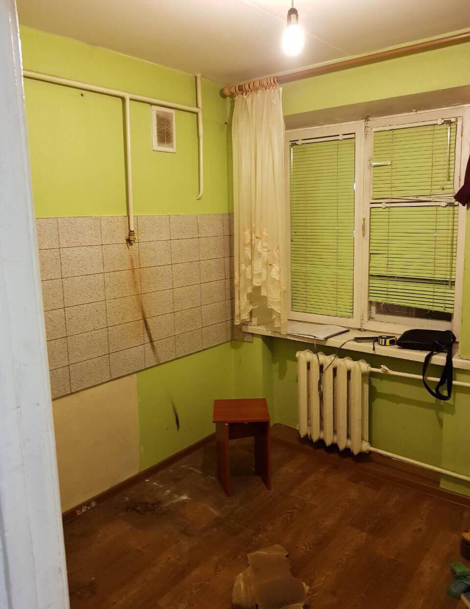 Фото квартиры до реализации дизайн-проекта