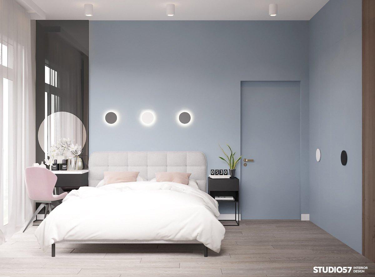 дизайн свободной планировки однокомнатной квартиры