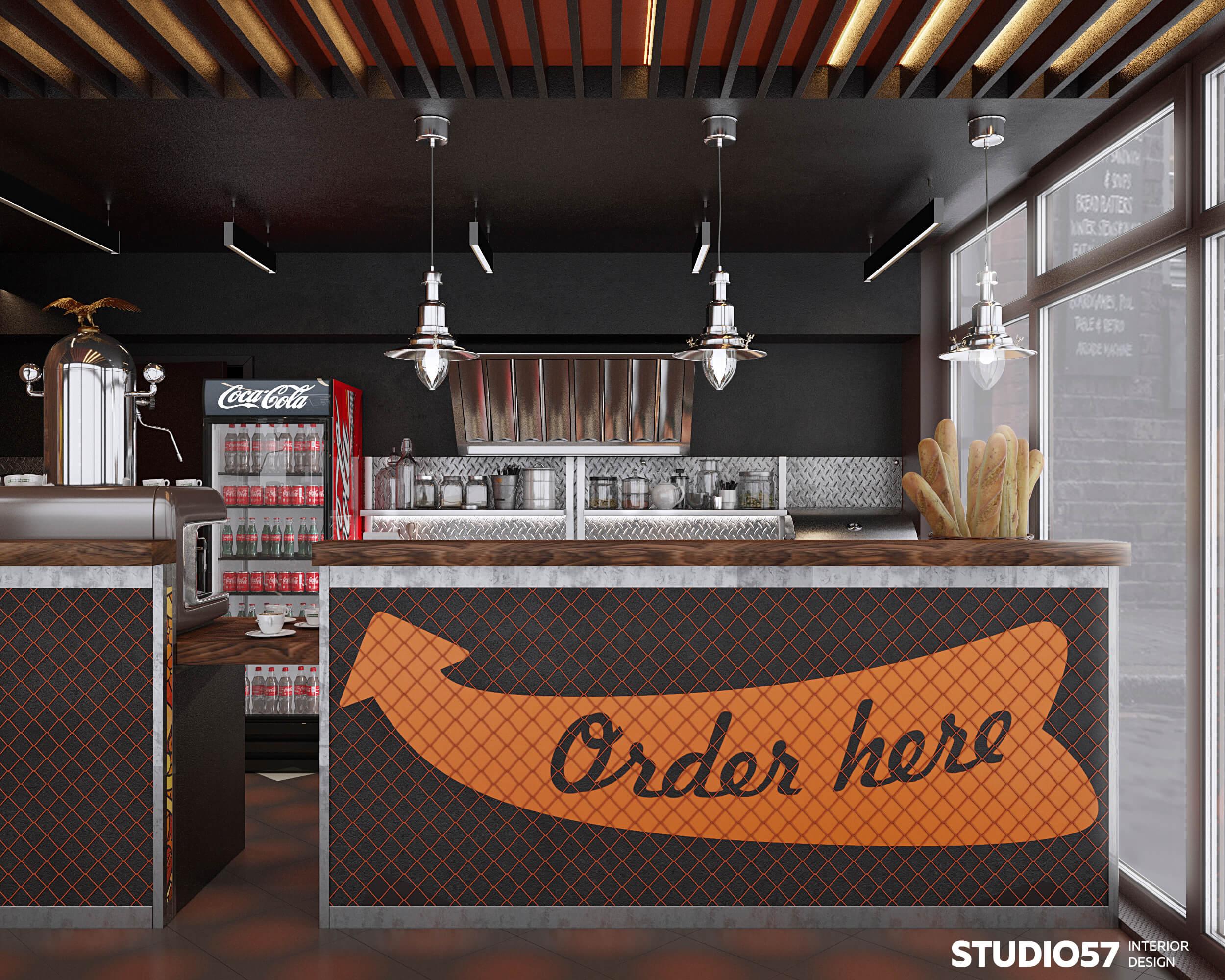 кафе дизайн лофт фото