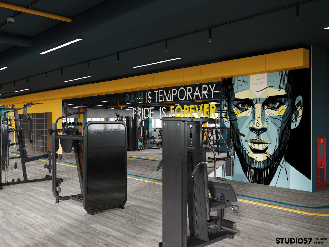 дизайн фитнес клубов фото