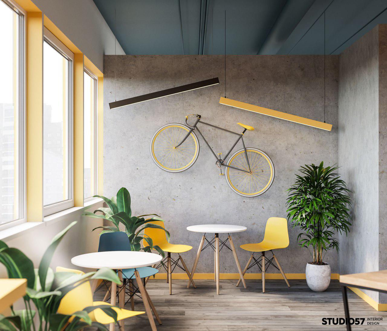 Дизайнерское оформление стены