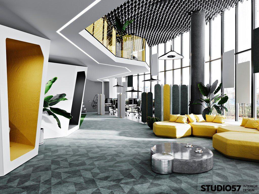 Дизайн зоны отдыха. Вид 1.
