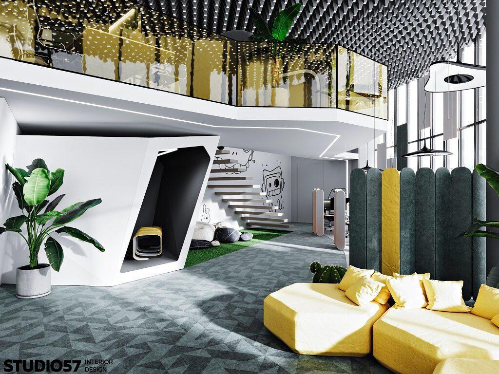 Дизайн зоны отдыха. Вид 3.