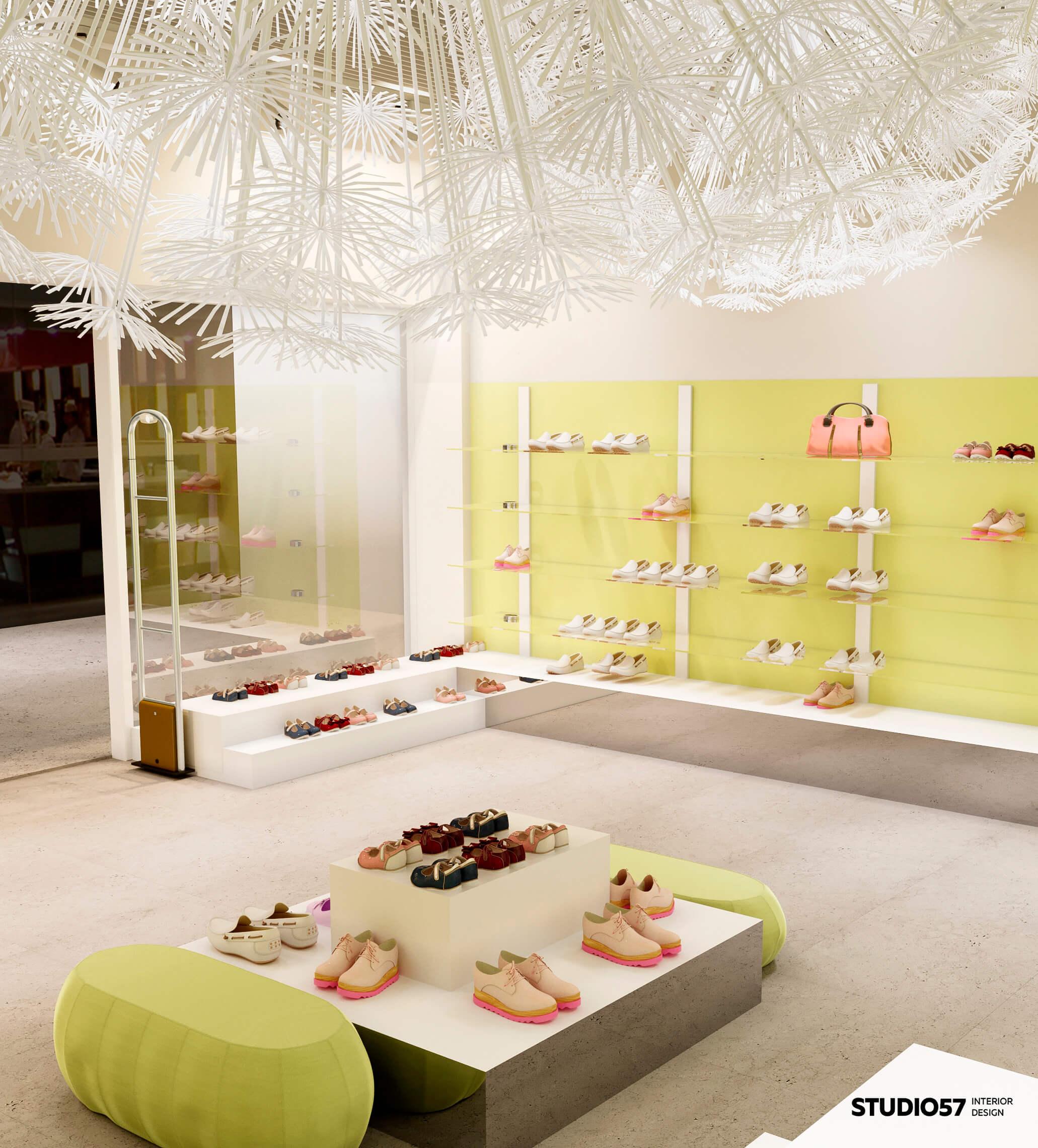 Happy Feet - дизайн магазина