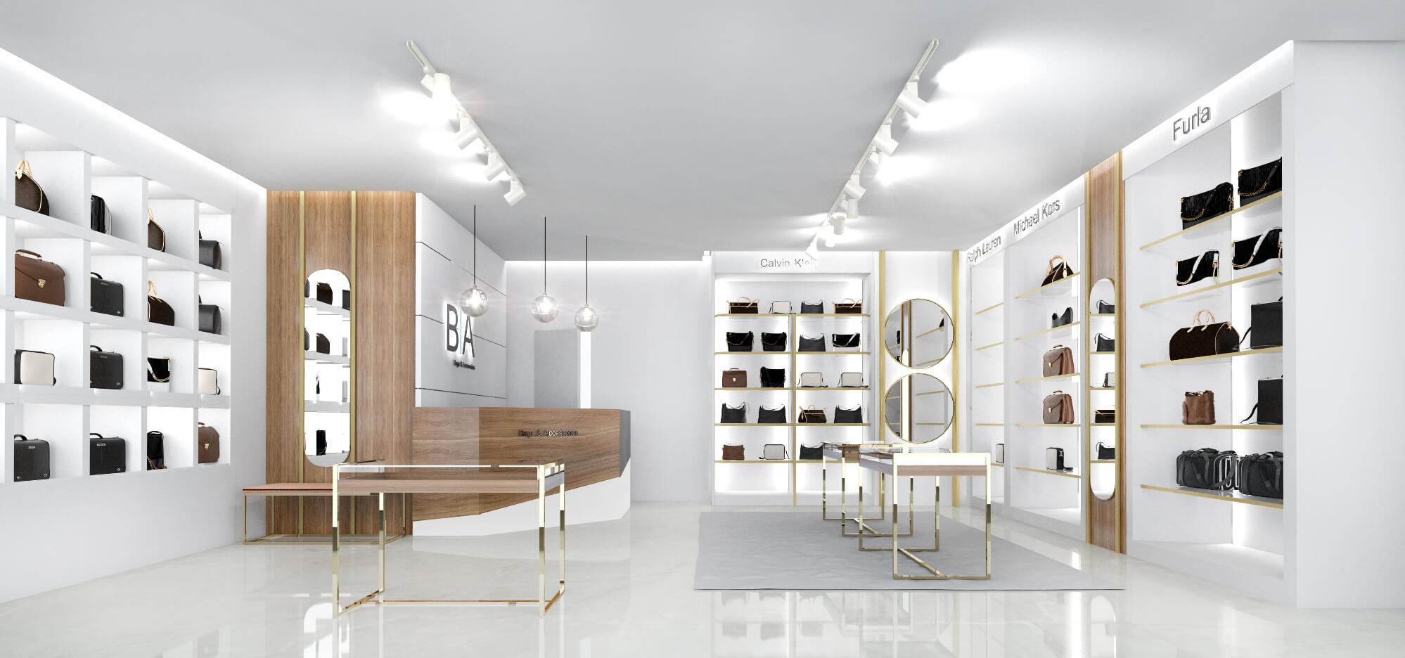 Дизайн торгового зала. Вид 2