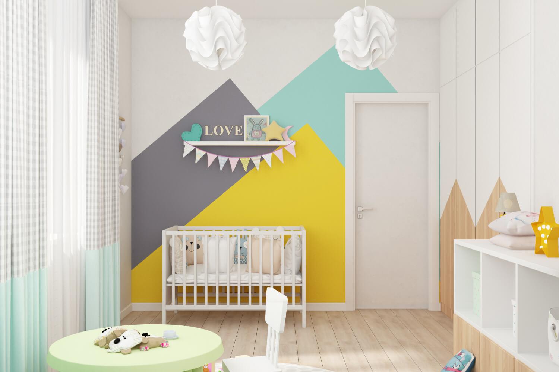 Детская комната. Вариант кроватки 1