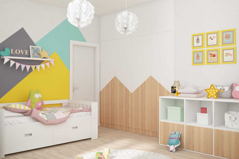 Детская комната. Вариант кроватки 2