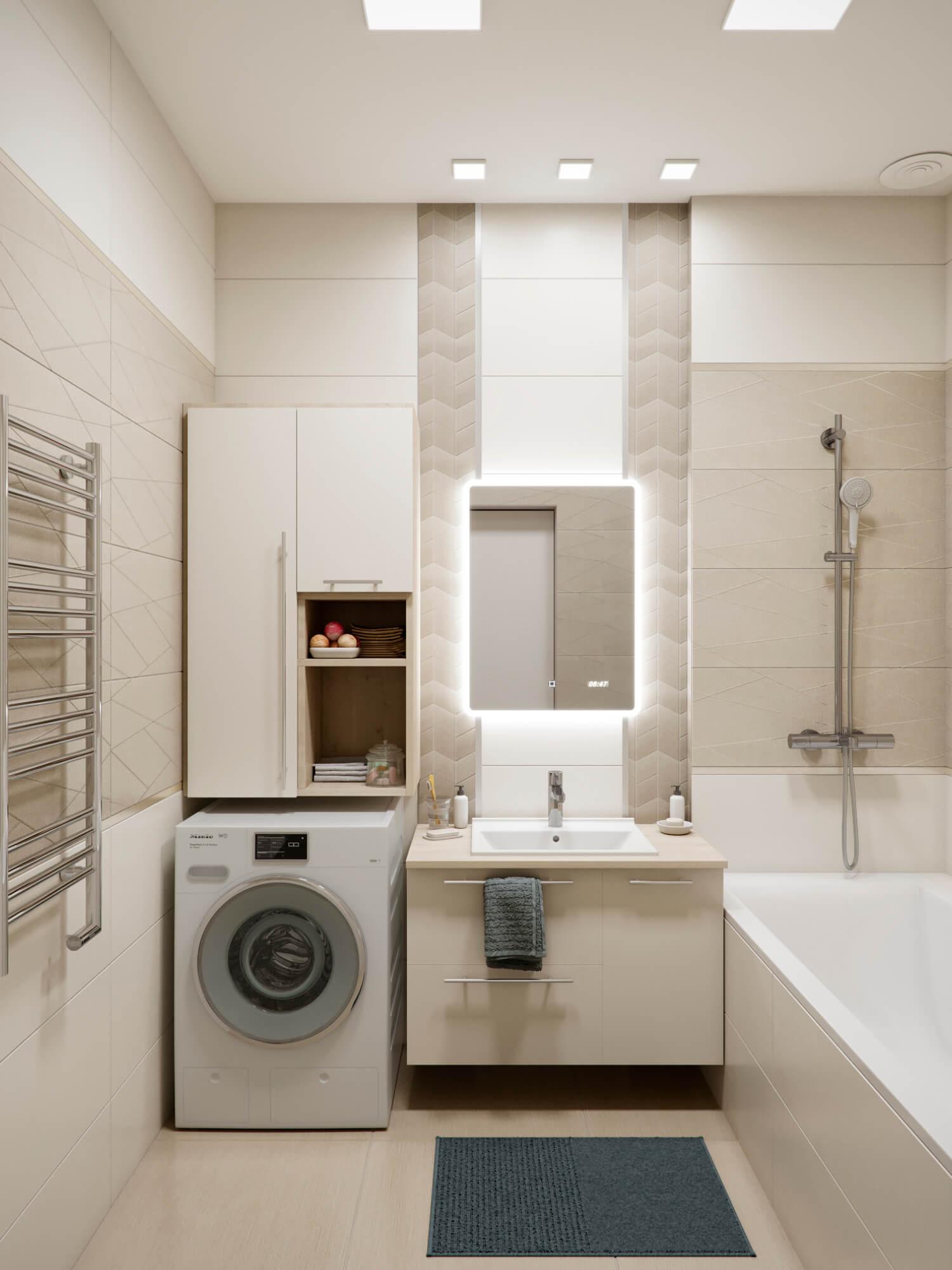 Ванная комната. Вид 1