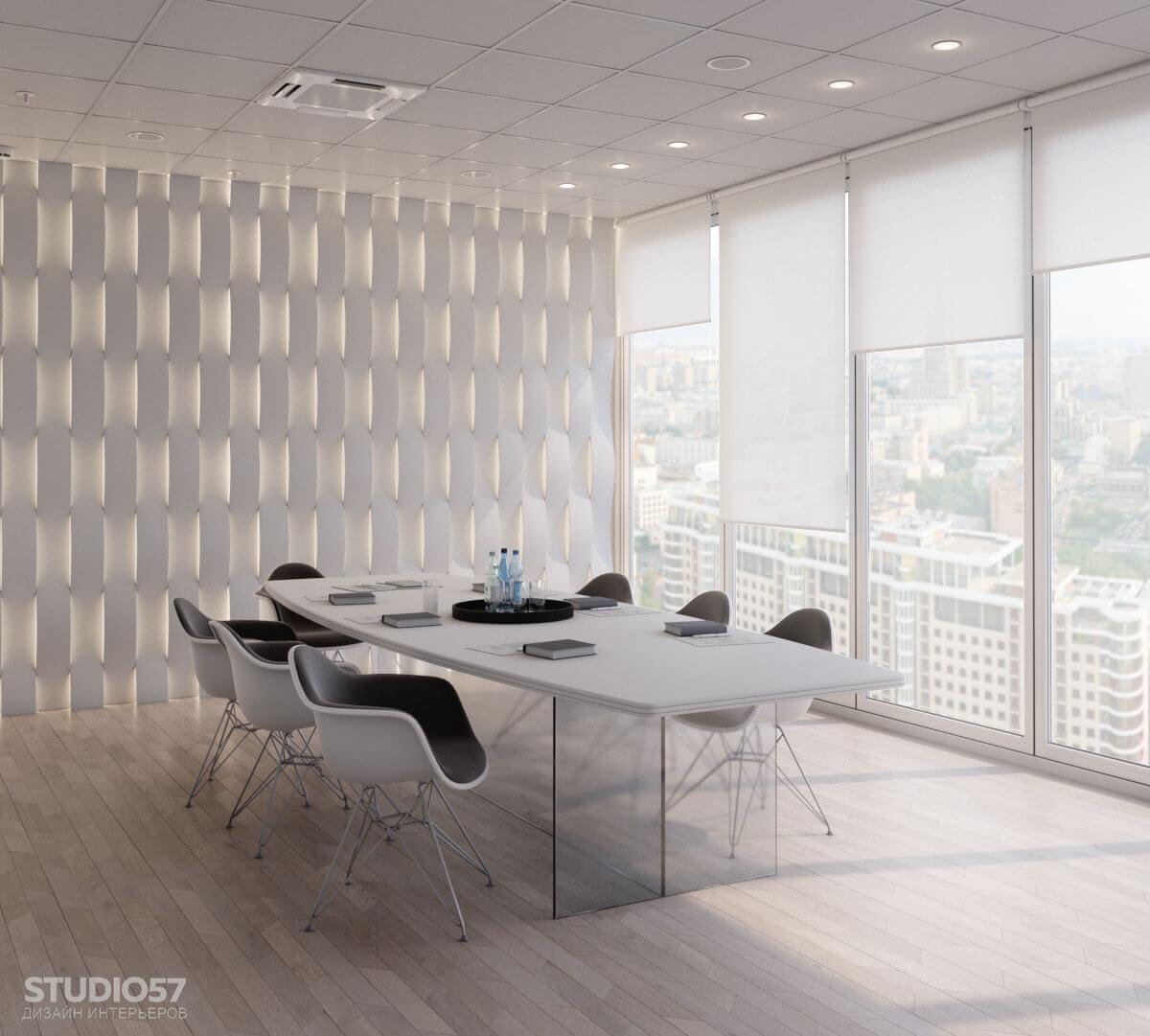 Softline - дизайн комнаты переговоров. Вид 3