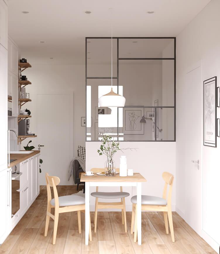 Кухня. Столовая группа. Вид 2