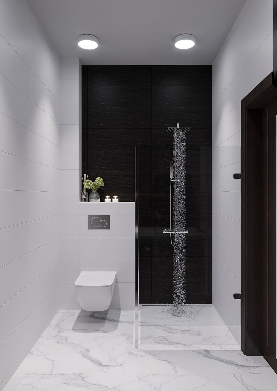 Ванная комната. Душевая кабина