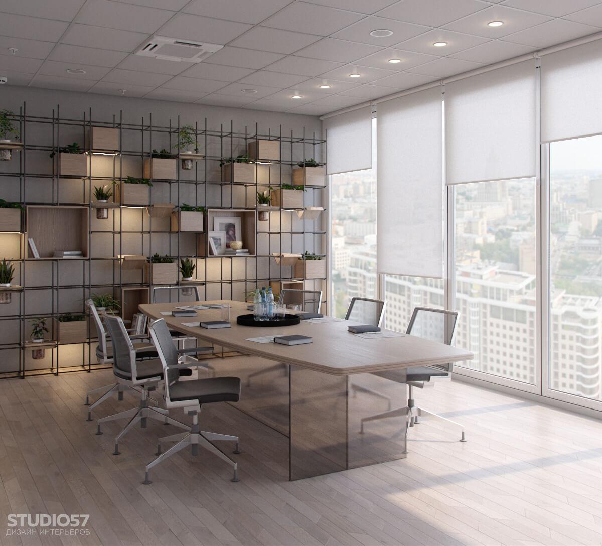 Softline - дизайн комнаты переговоров. Вид 5