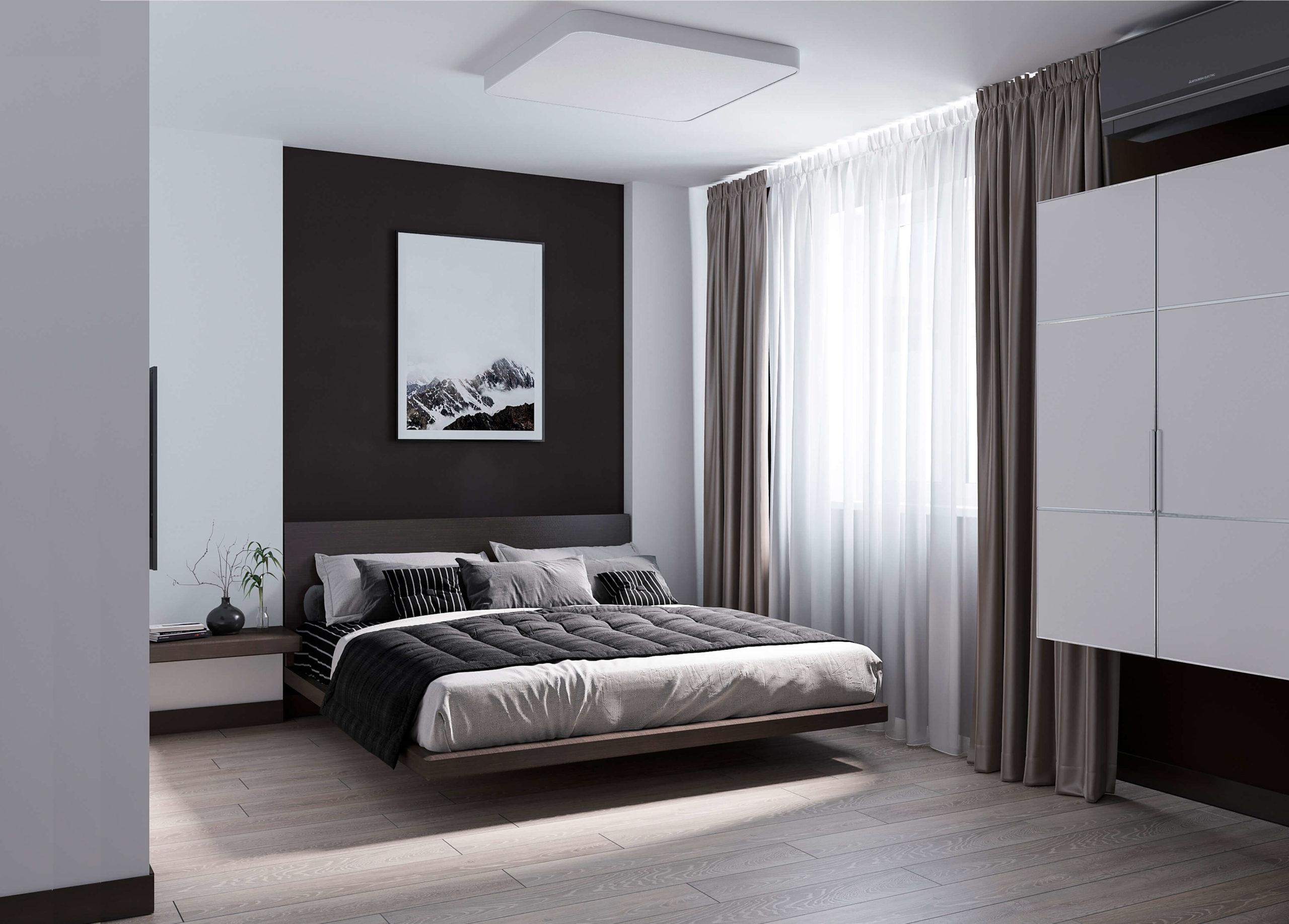 Мужская спальня. Вид 1