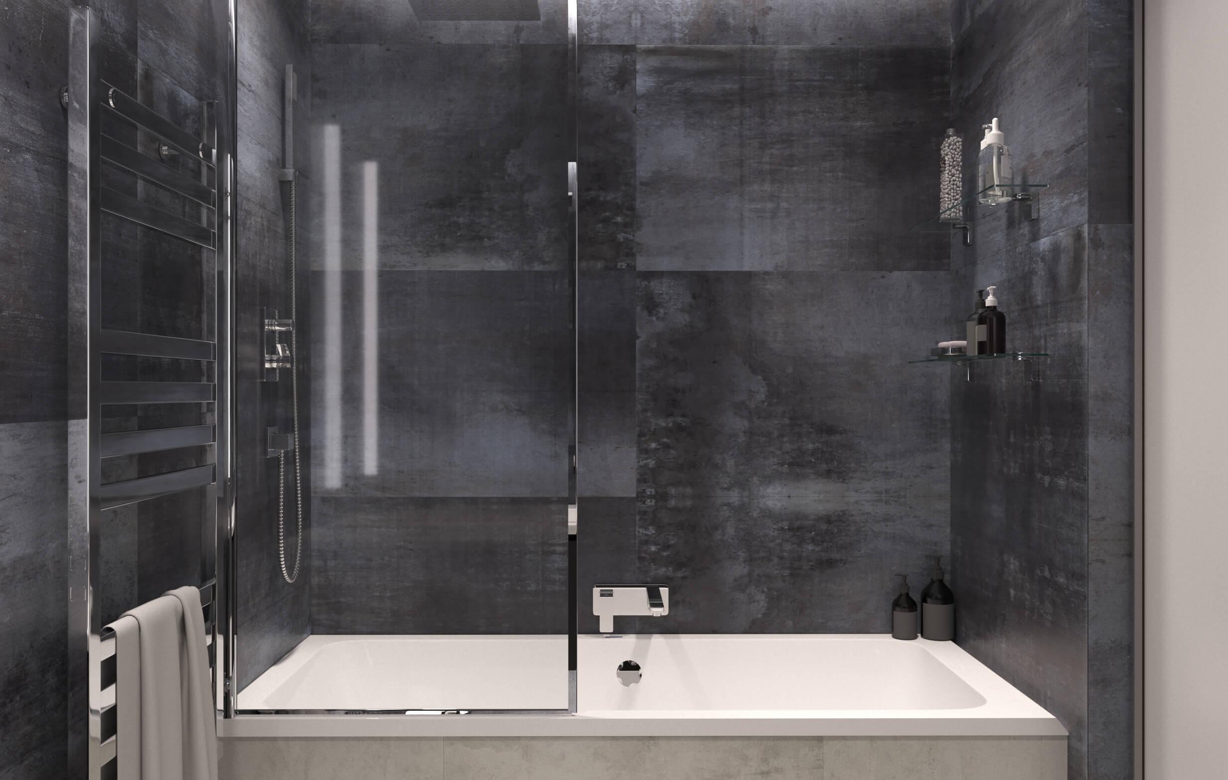 Ванная комната. Вид 4