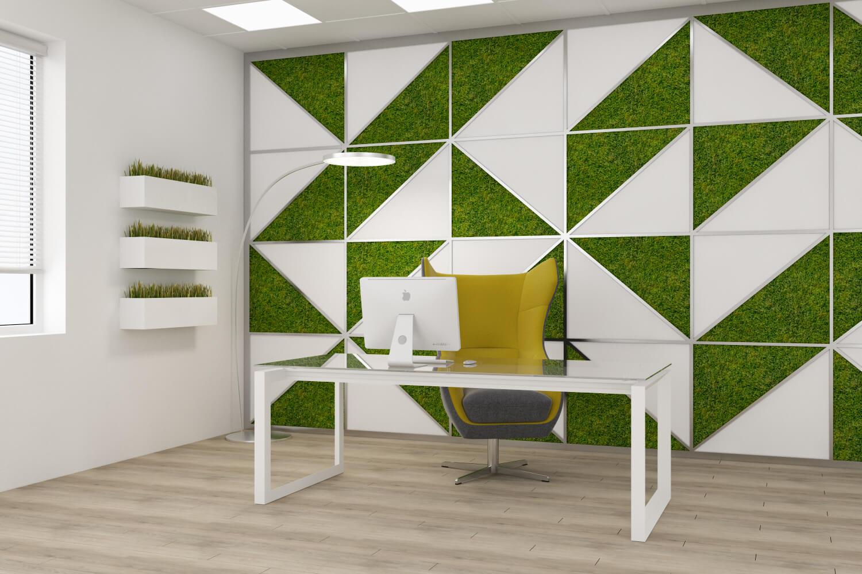Softline - дизайн рабочей зоны. Вид 2