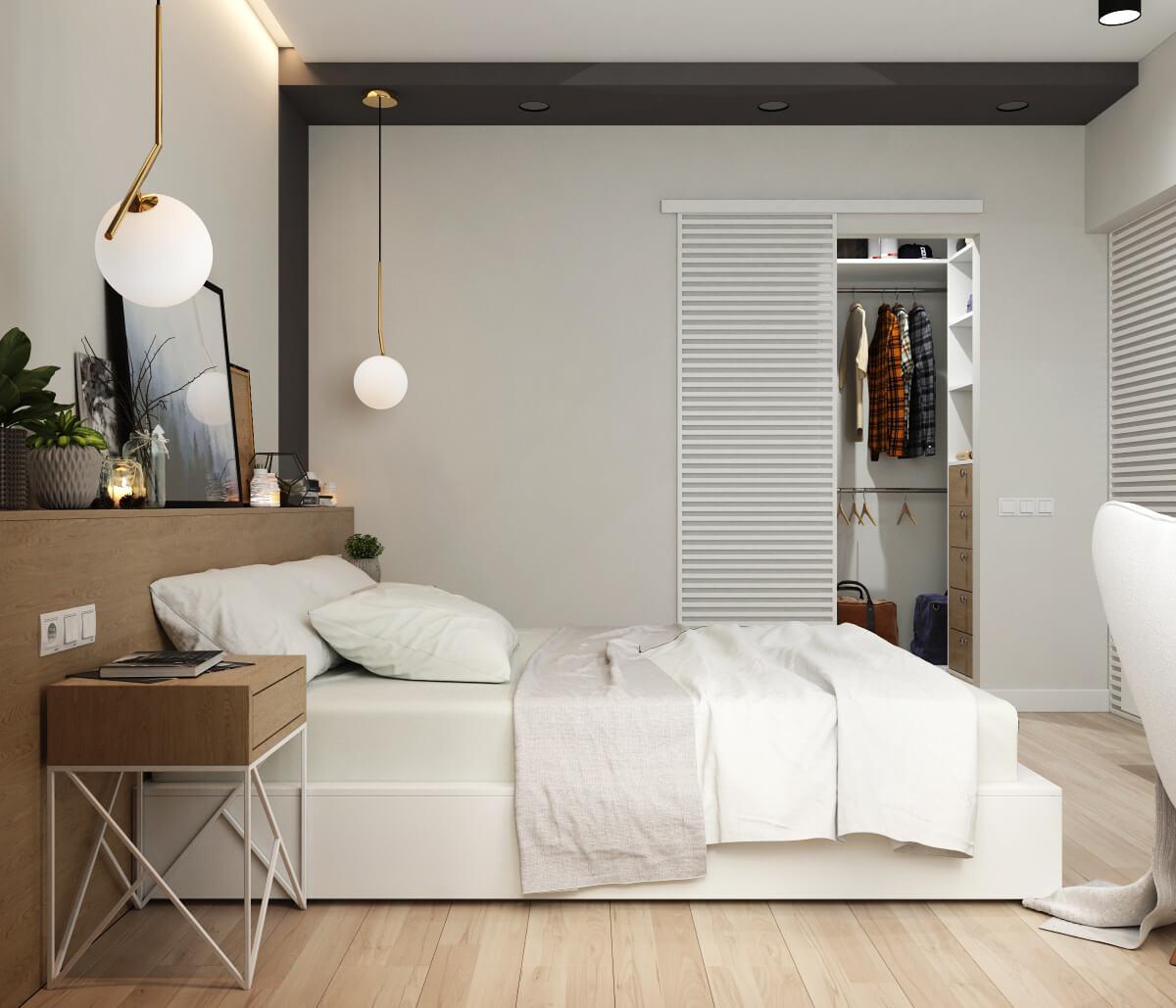 Спальня. Вид 4