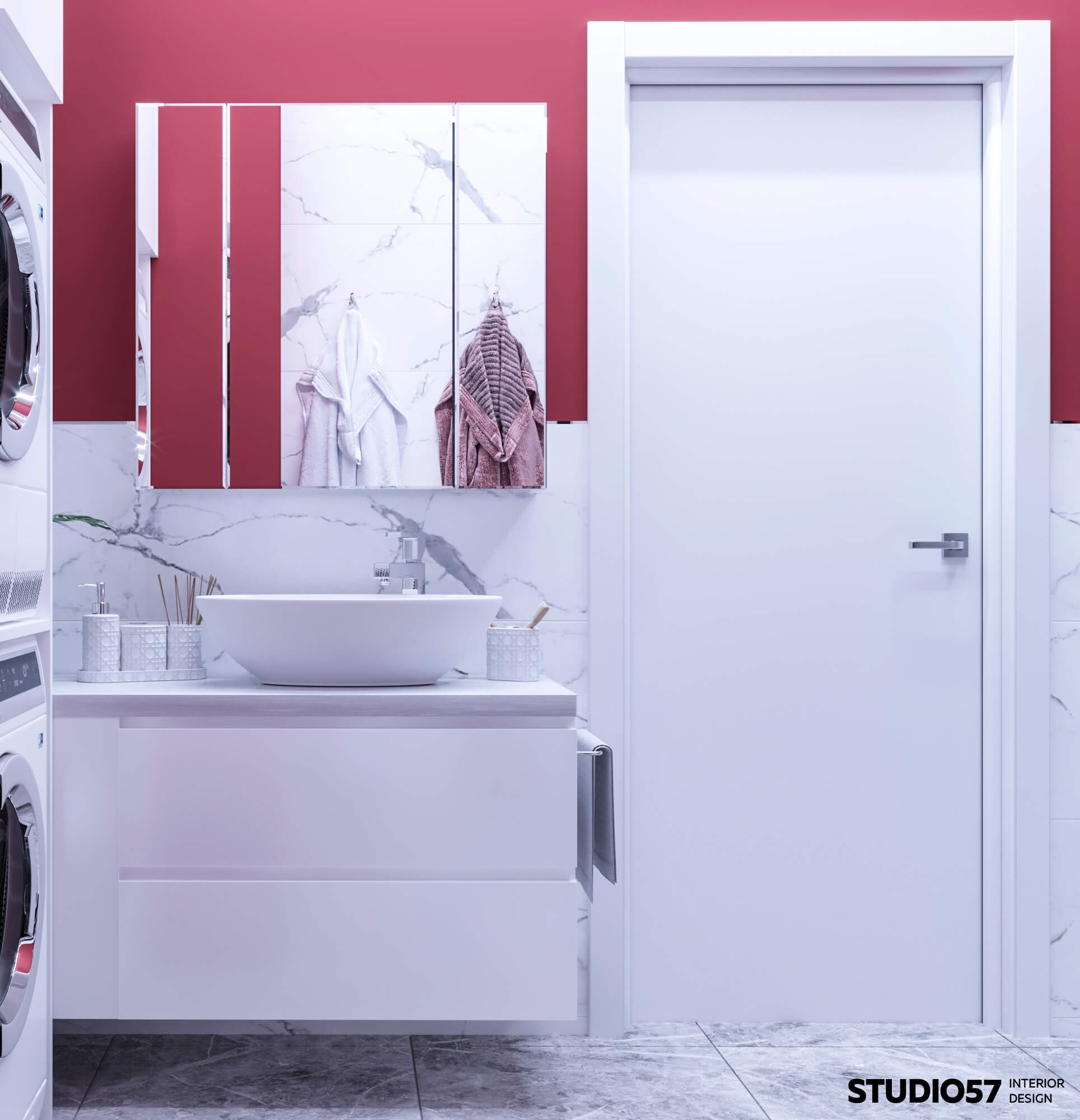 Ванная комната. Вид 6. Умывальник