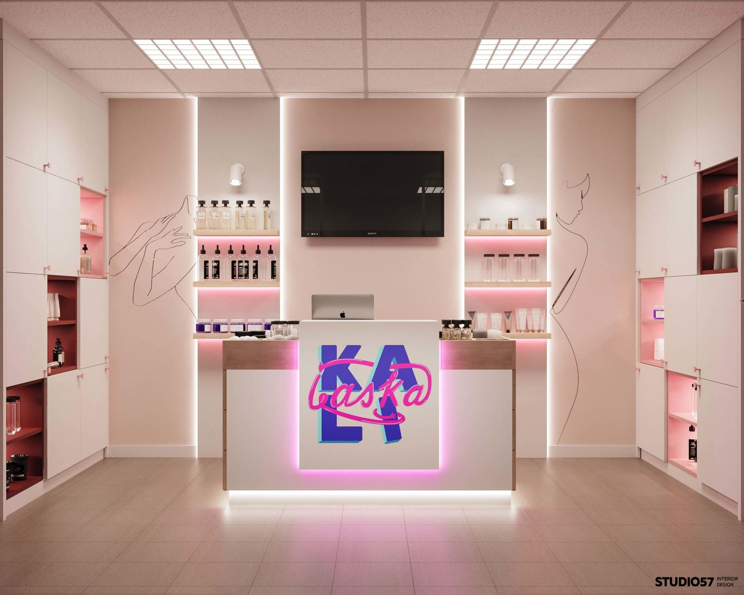 Дизайн магазина игрушек для взрослых. Вид 2.
