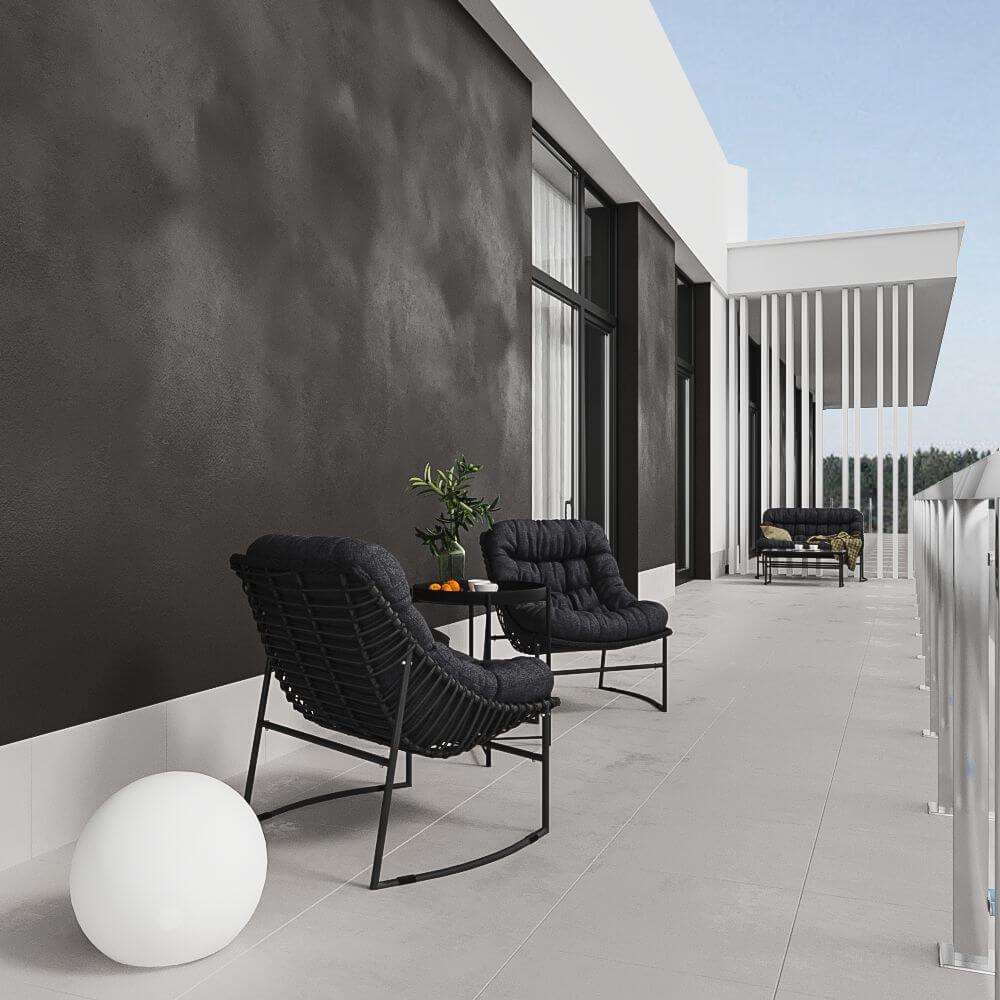 Дизайн балкона. Вид 2.
