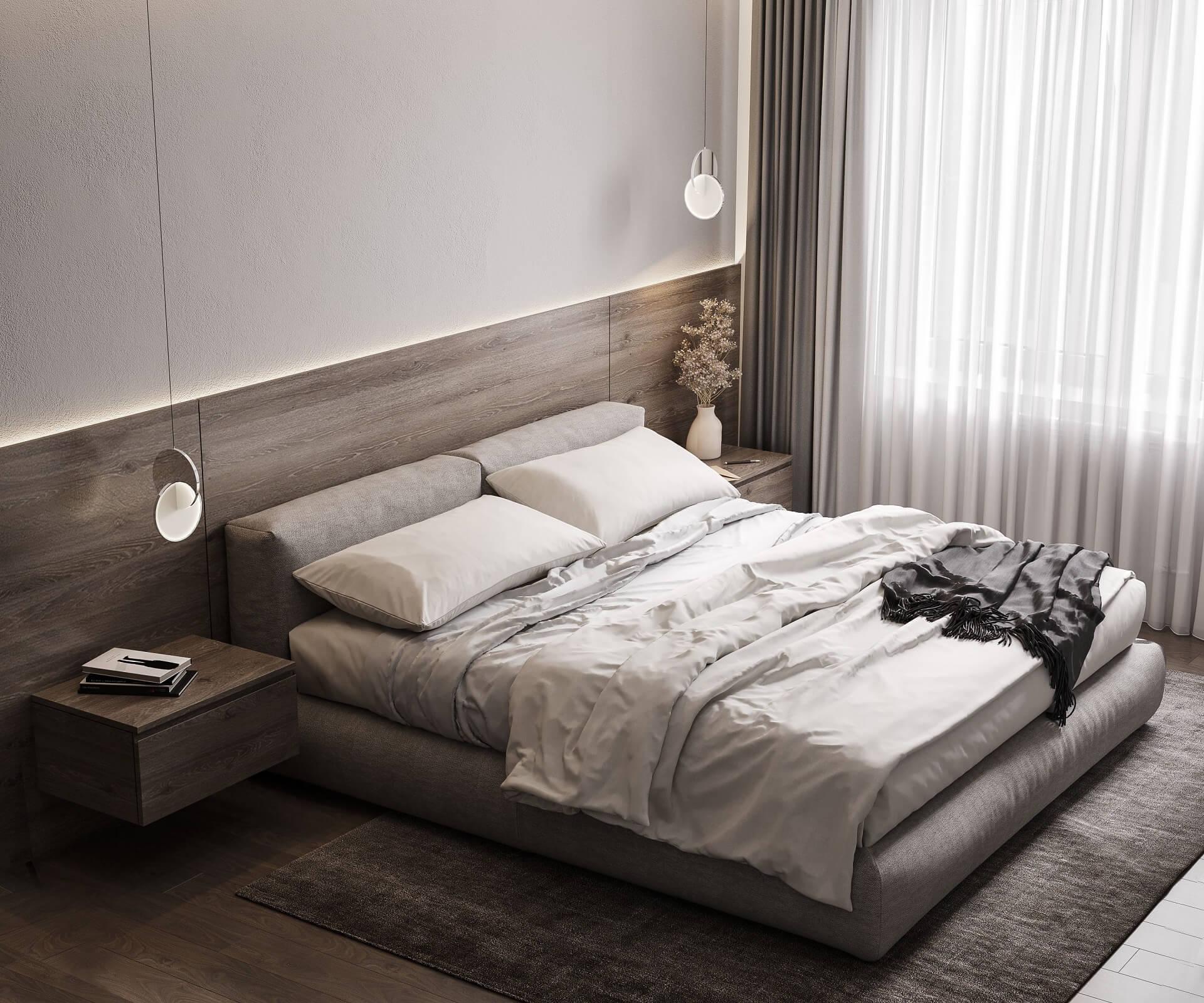 Дизайн спальни Вид 2.