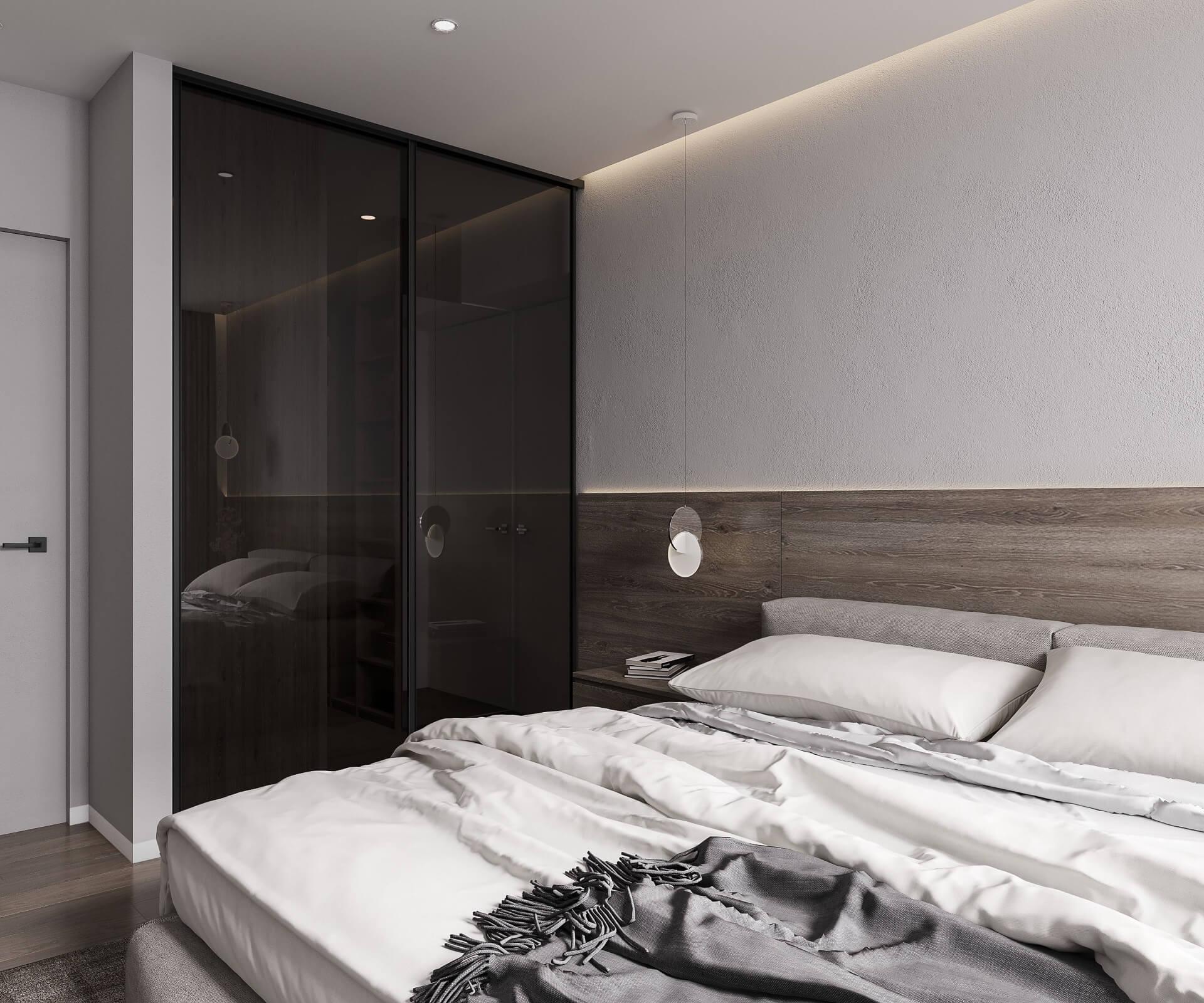 Дизайн спальни. Вид 3.