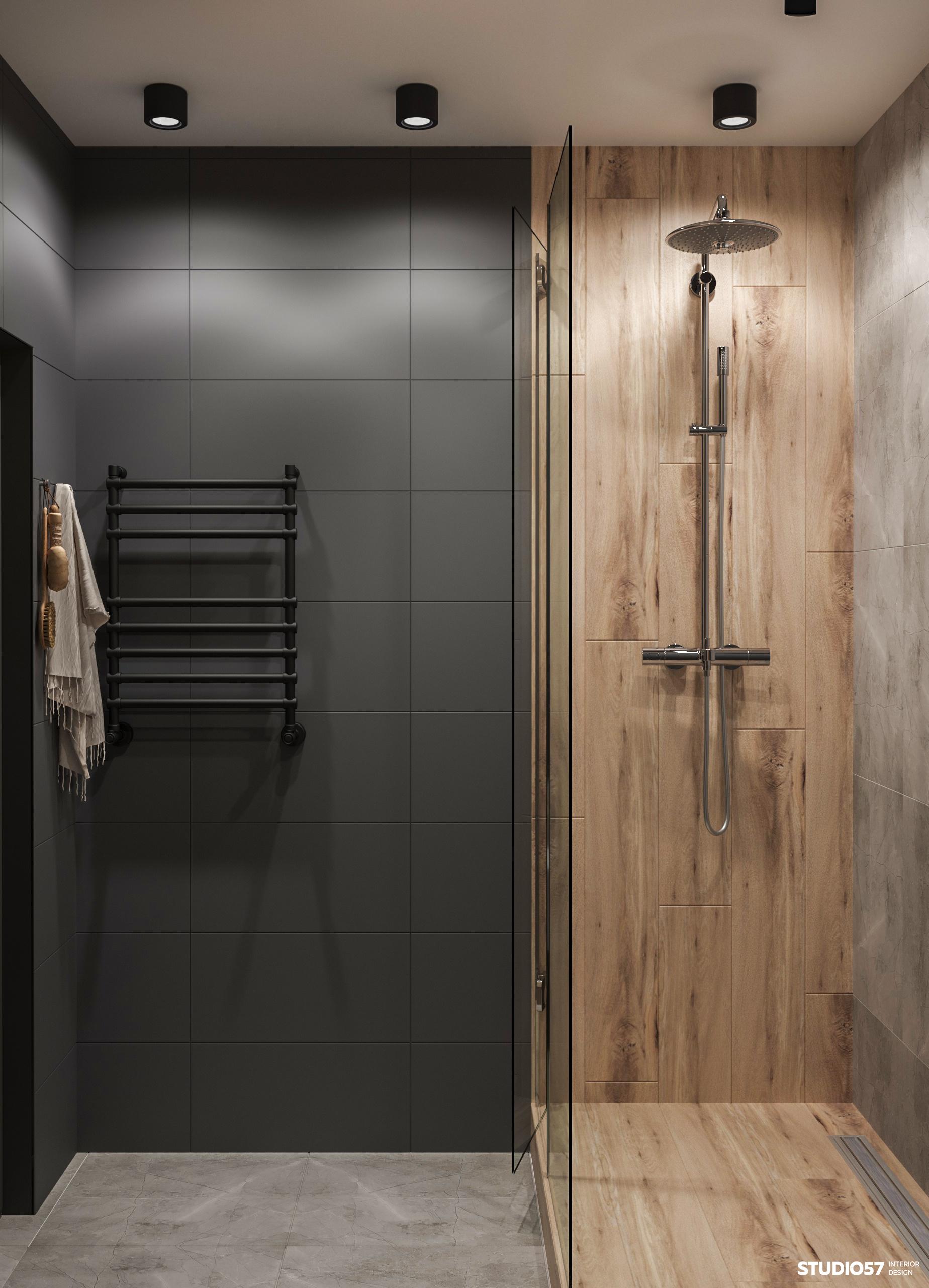 Дизайн ванной комнаты. Вид 1.