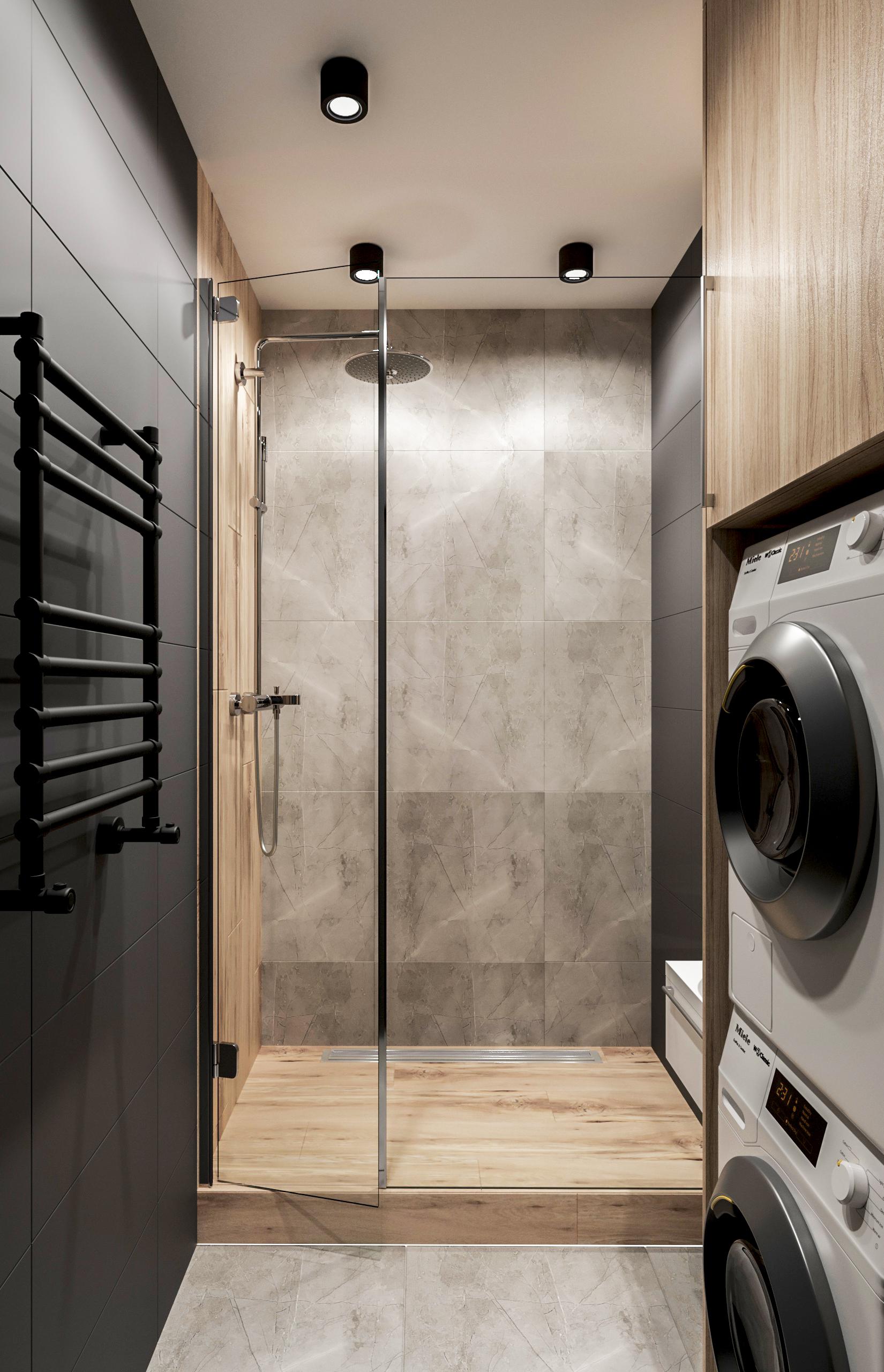 Дизайн ванной комнаты. Вид 2.