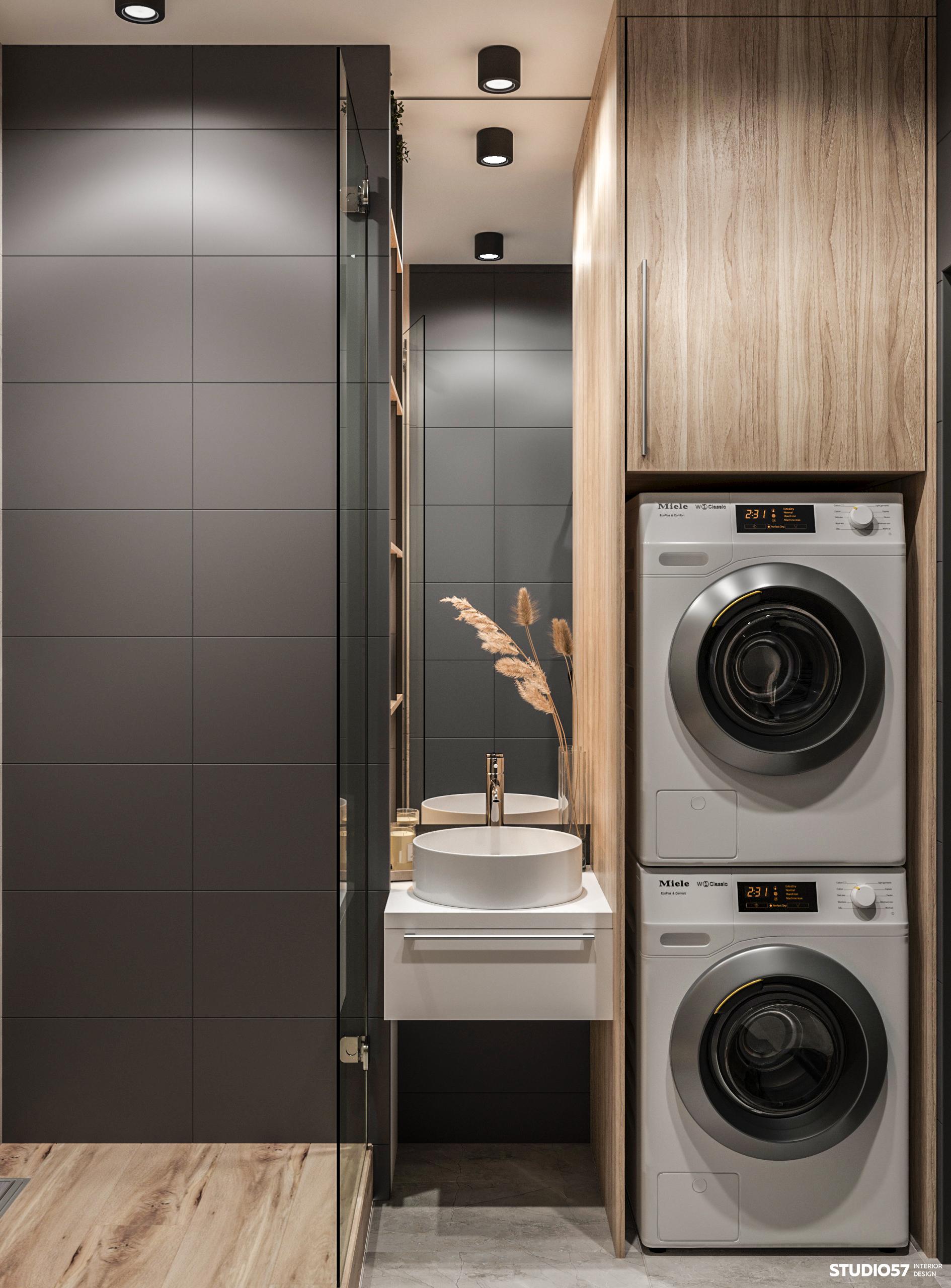 Дизайн ванной комнаты. Вид 3.